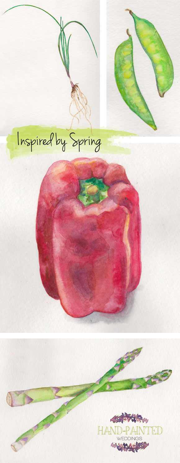 Inspired by Spring Vegetables