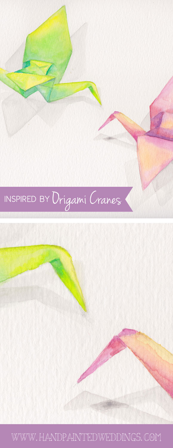 Inspired by Origami Cranes