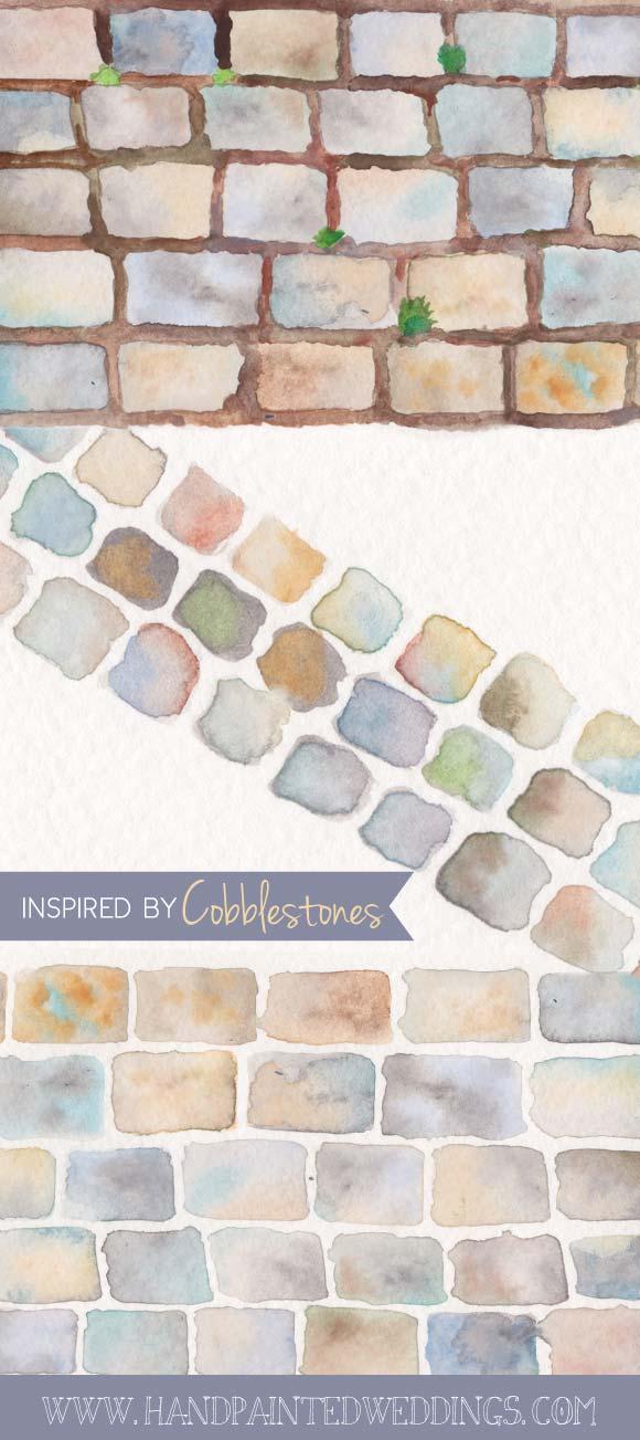 Cobblestone Wedding Inspiration