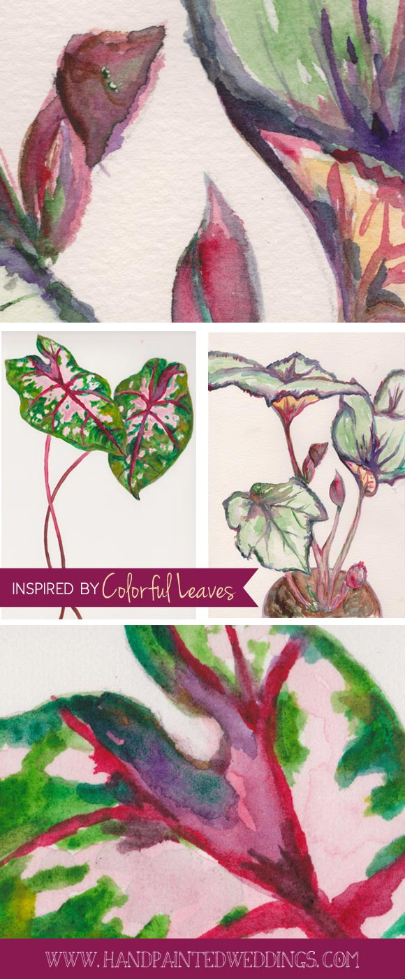 Inspired by Colorful Leaves