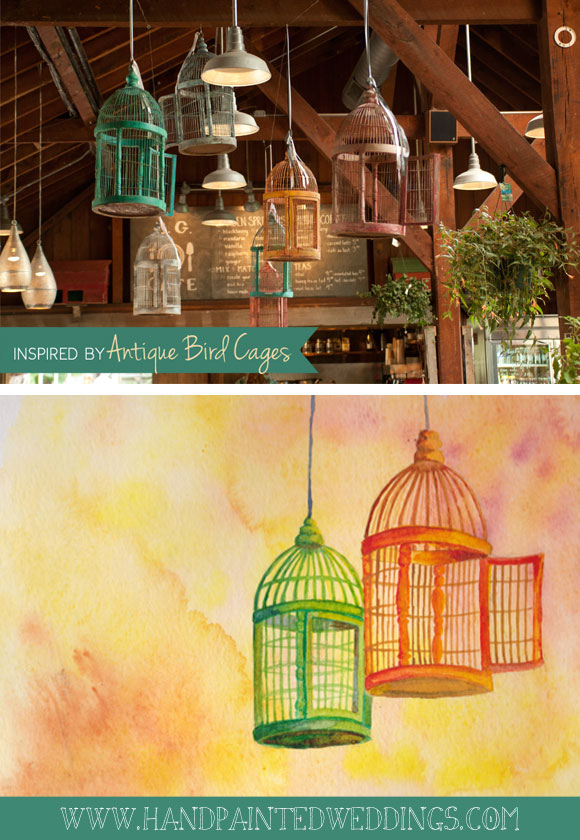 Inspired by Antique Bird Cages