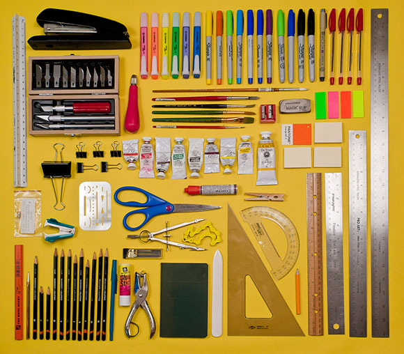 Inspired by Things Organized Neatly
