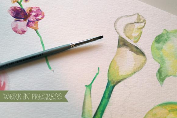 Work in Progress: Flower Calendar