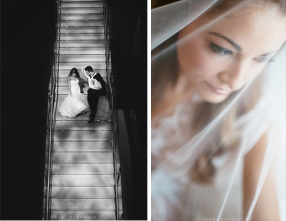 Real Wedding. Posted on Hand-Painted Weddings. Photo by Shari Angelo. Wedding planning by Truly You Events.