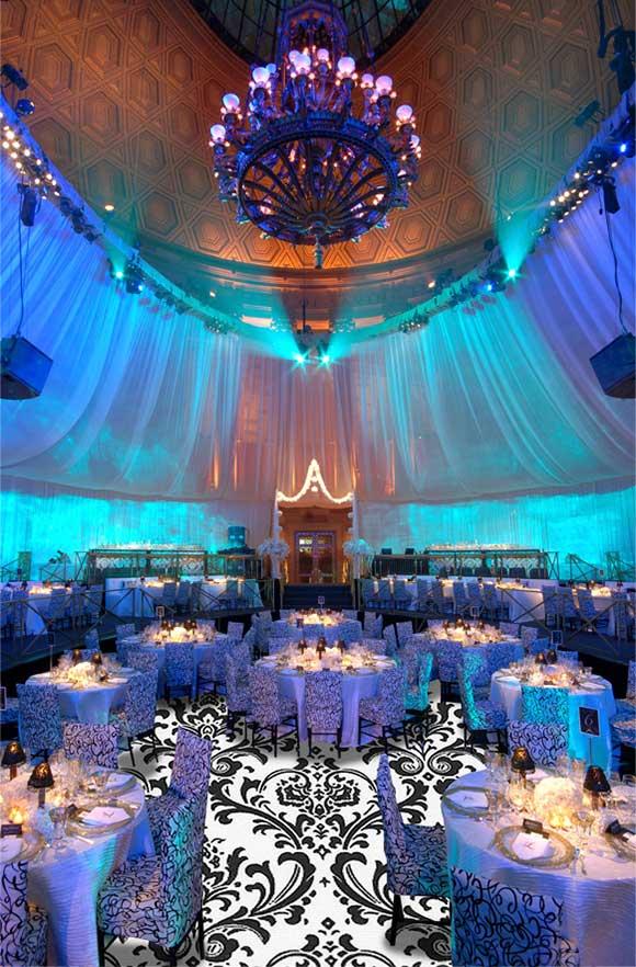 Damask Ombre Wedding Inspiration