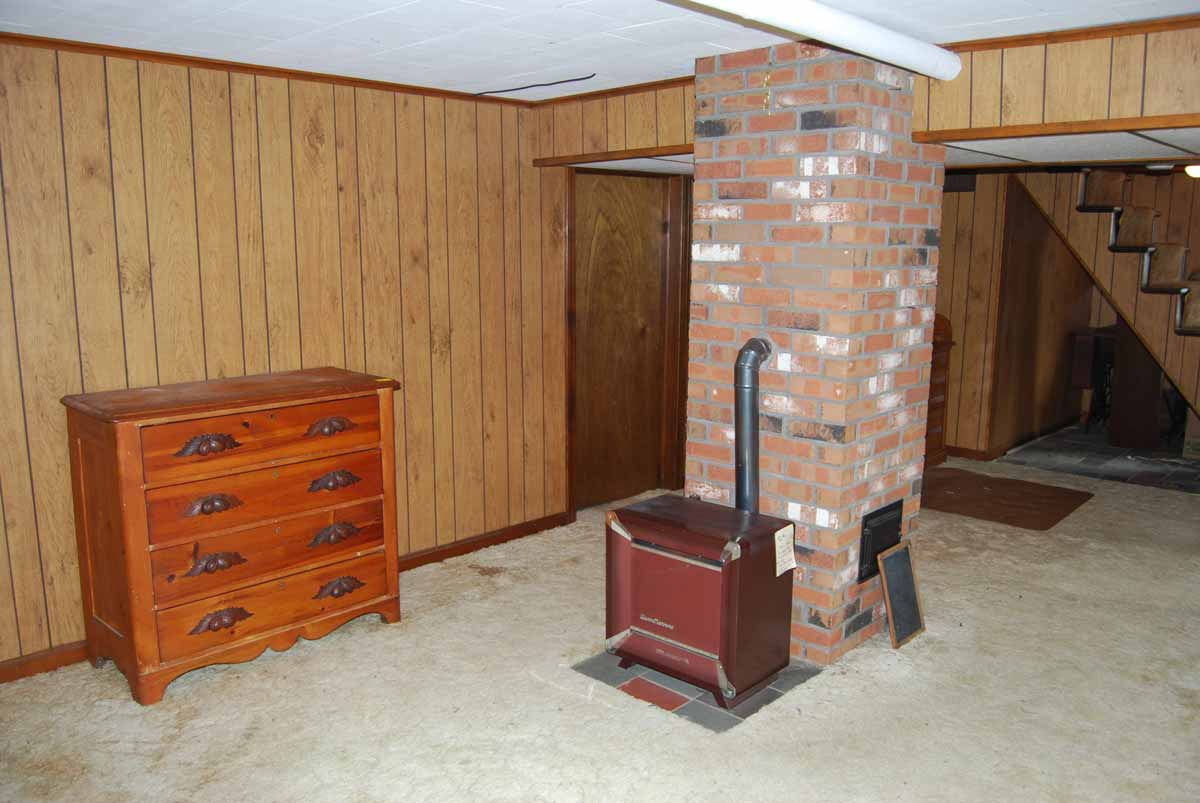 Partially Finished Walk-Out Basement