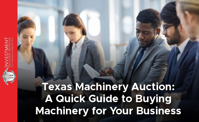 Texas Machinery Auction: A Quick Guide to Buying Machinery for Your Business