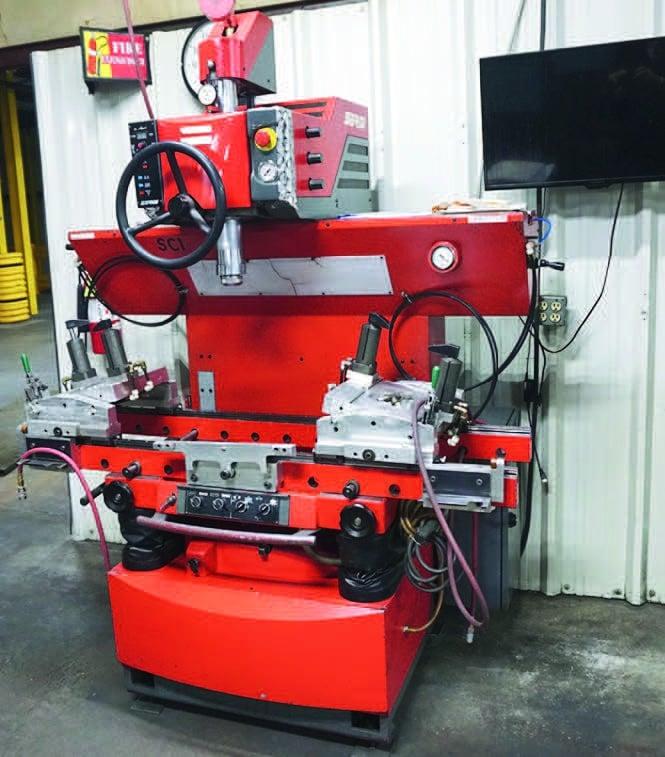 serdi valve cutting machine