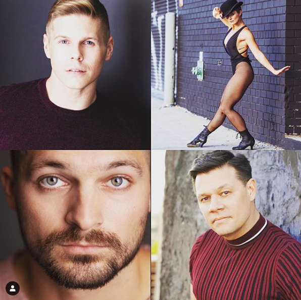 October 23rd-25th – Four Dance Artists!