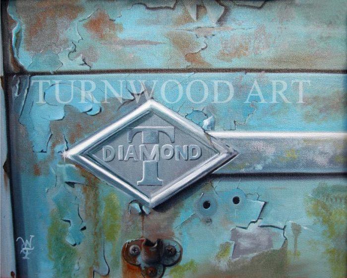 Blue Diamond - Oil on Canvas by William C. Turner