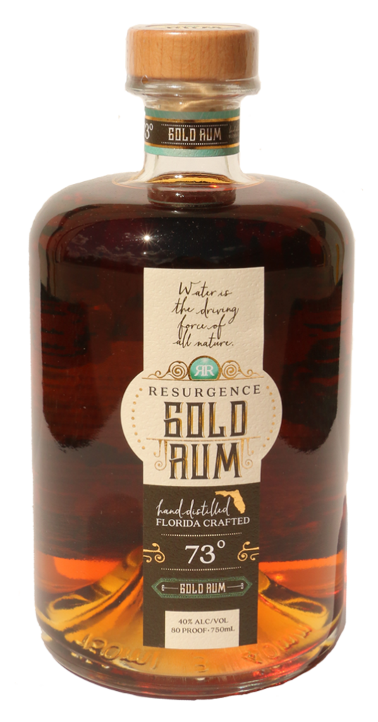 Gold Rum - 73 Degrees