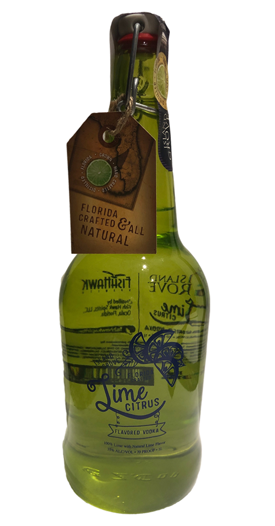 Island Grove Lime Vodka