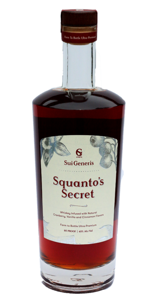 Squanto's Secret Infused Whiskey