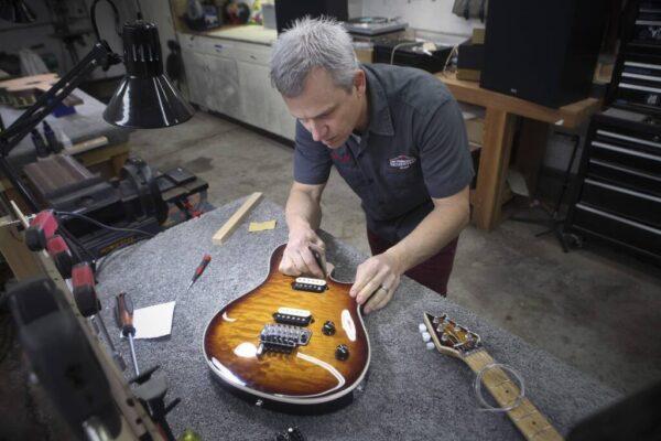 Sonoma County Guitarworks - Geoff Working