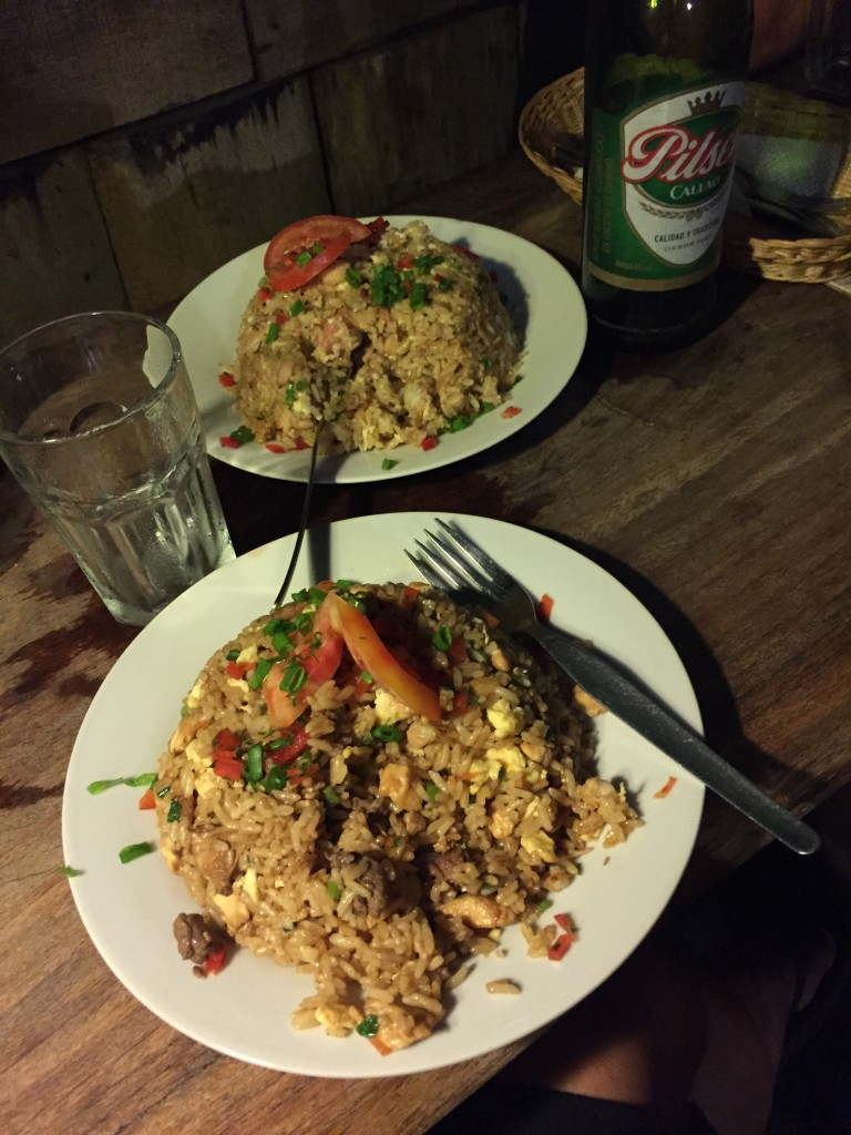 arroz chaufa= heaven