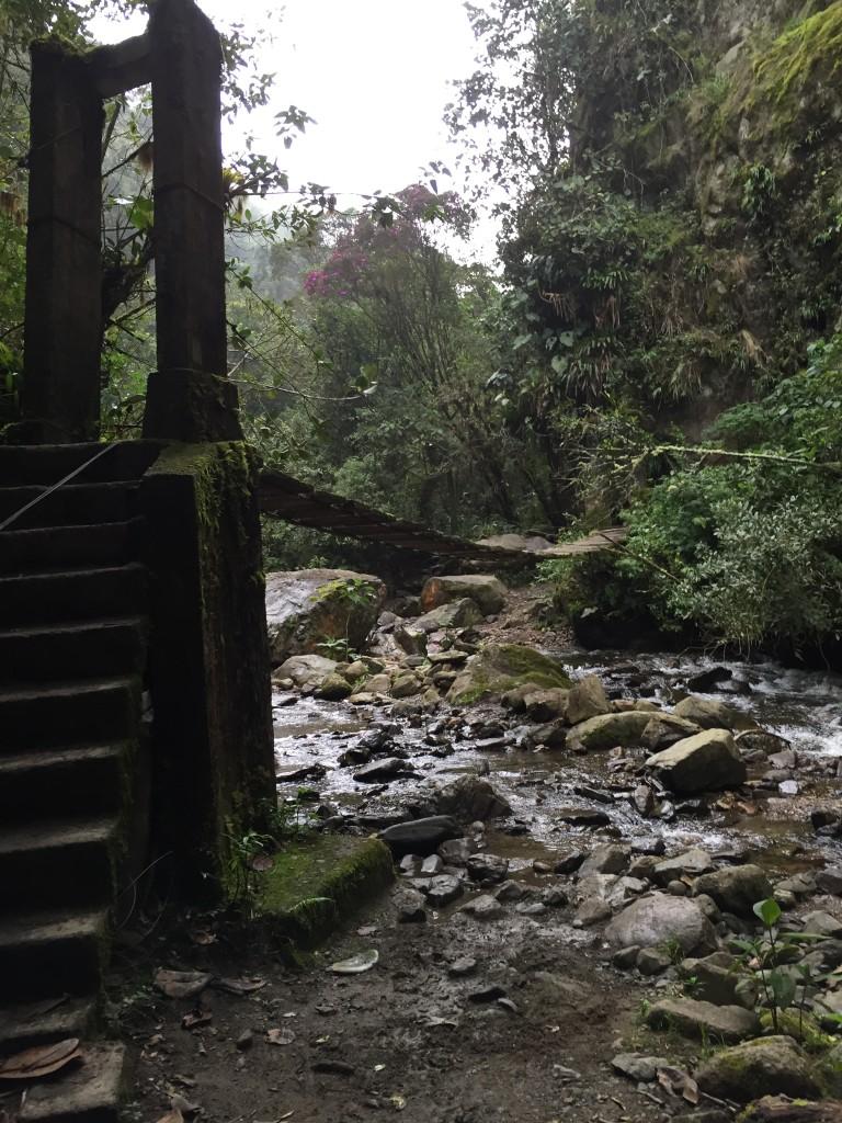 cool, rickety bridge