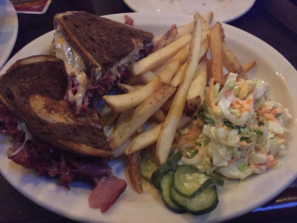 Reuben sandwich at Deep Ellum, Boston, Massachussets