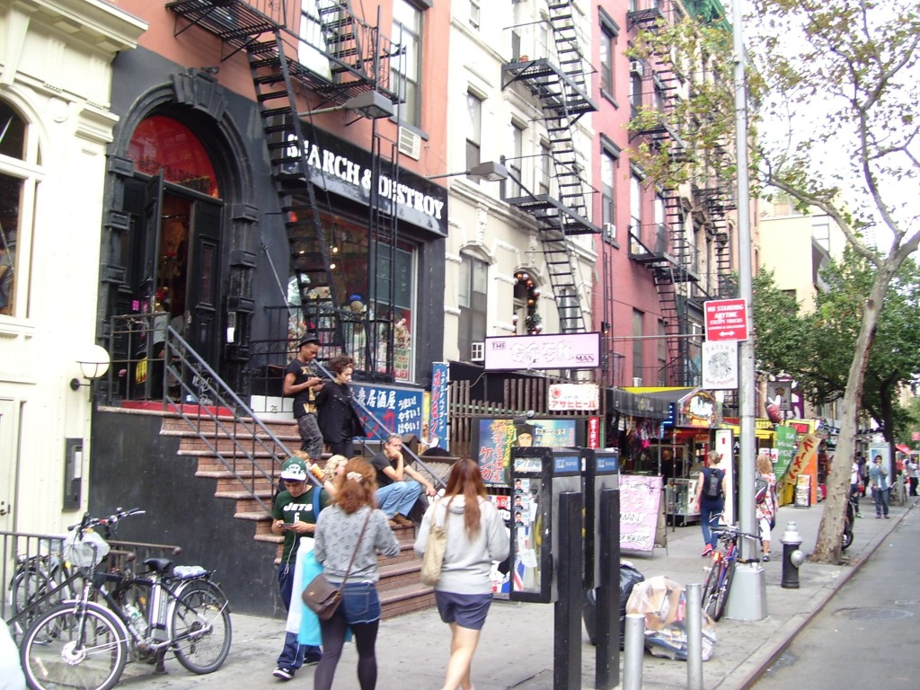 St. Marks Place, Noho, East Village, New York City