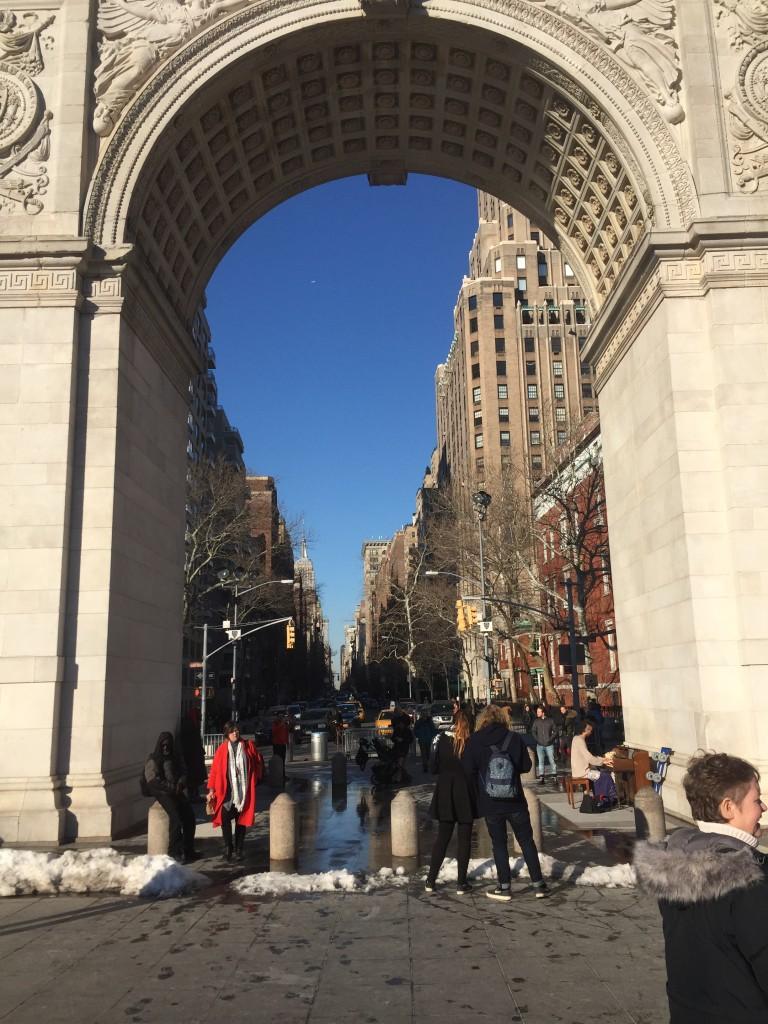 Triumphal Arch, Washington Square Park, New York City