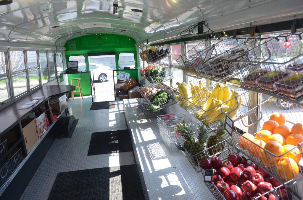 Fresh Truck interior, Boston
