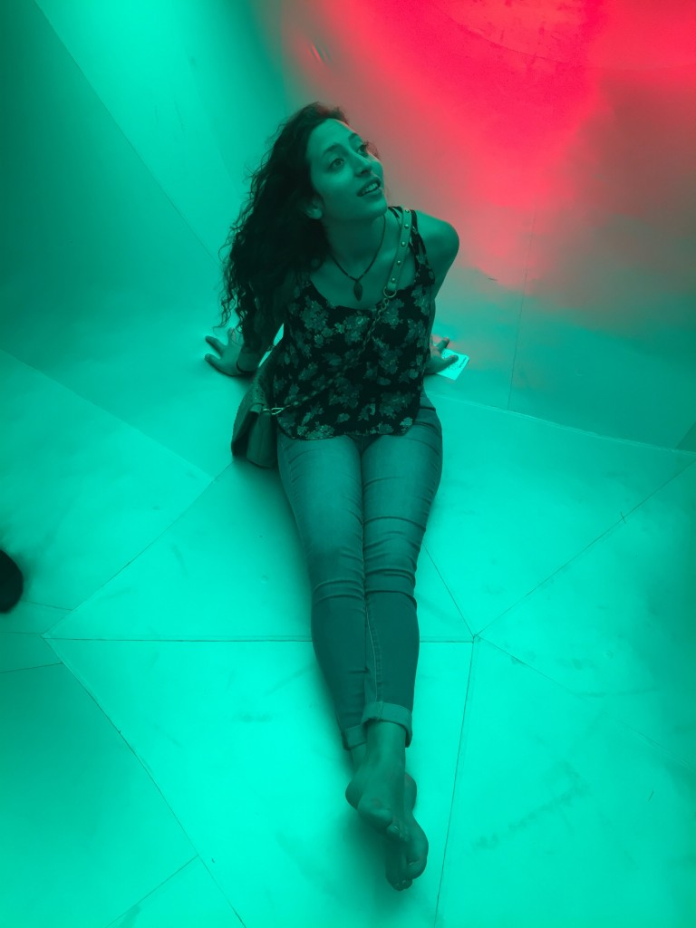 me, inspired by the light and warmth of PENTALUM luminarium, South Boston