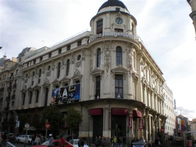 Teatro Haagen Dazs, Calle Atocha, Madrid, Spain