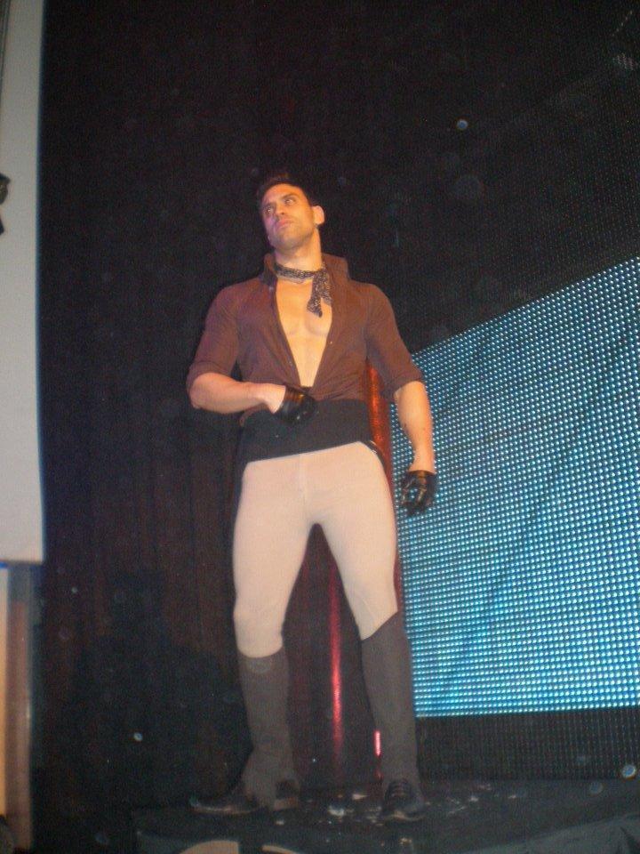 dancer at Kapital, Madrid, Spain