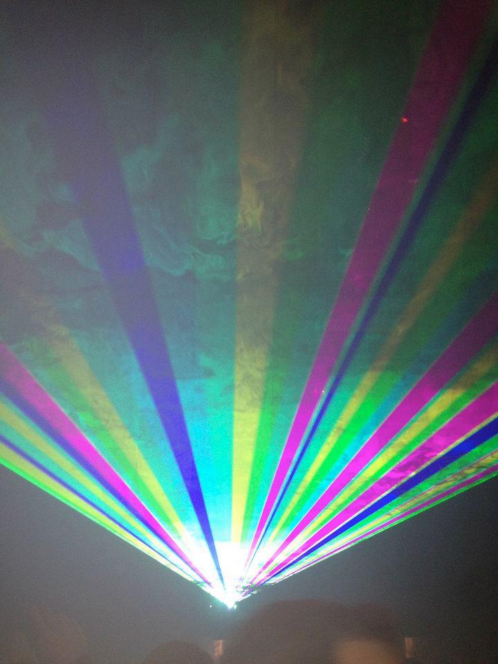 crazy lights, Moondance, Madrid, Spain