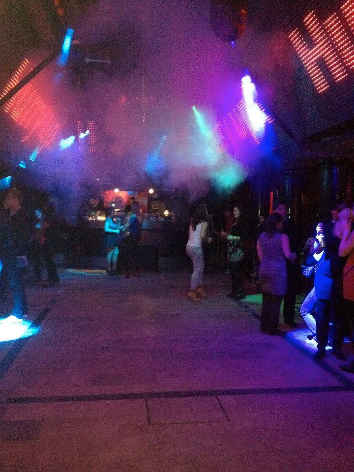 Moondance dance floor, Madrid, Spain