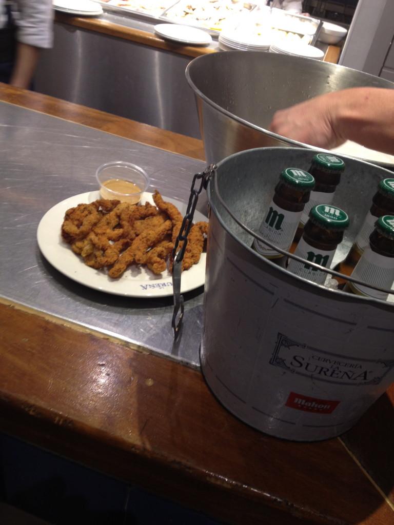 chicken fingers and beer, Cerveceria la Surena