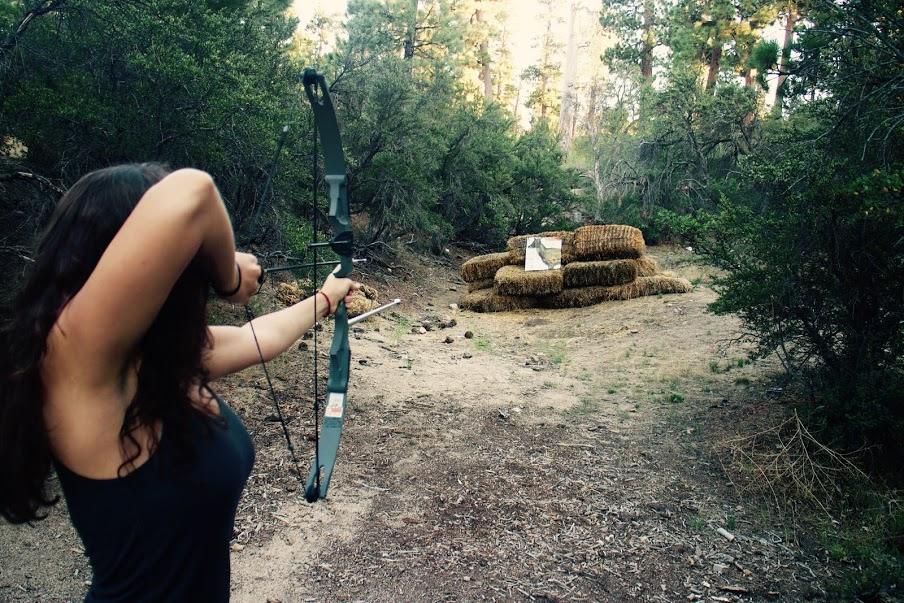 ITH Big Bear Mountain Adventure Lodge archery
