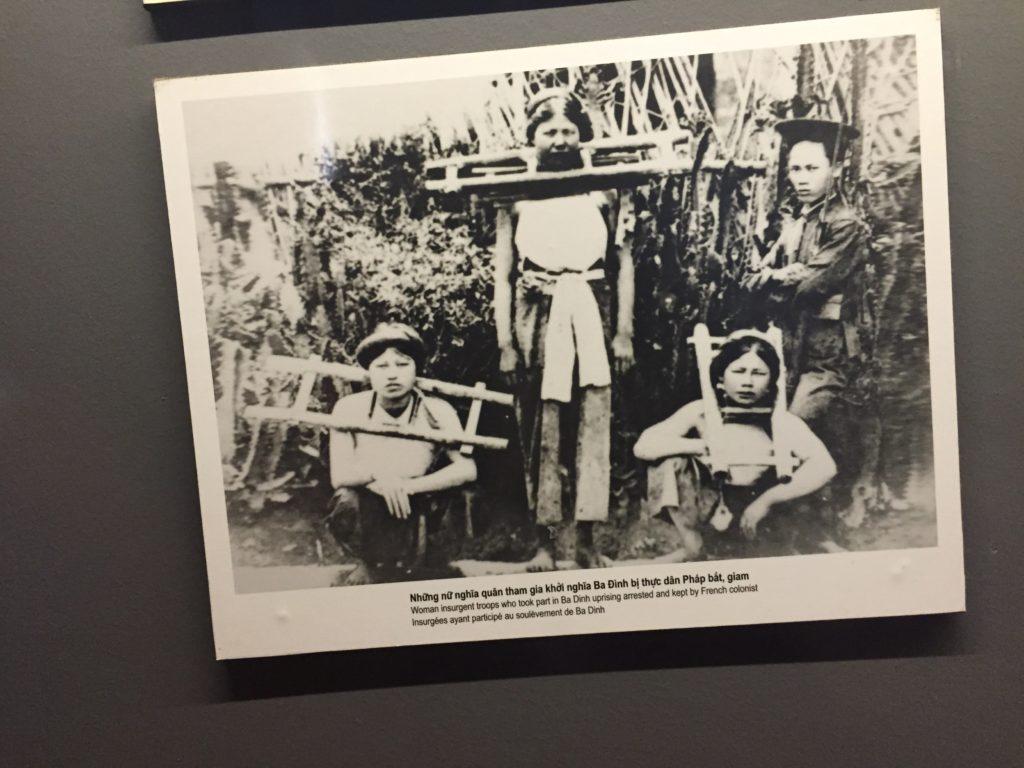 Photo of women prisoners of Hoa Lo Prison, Hanoi, Vietnam