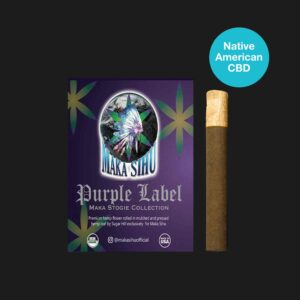 2400mg Maka Stogie Purple Label (3CNT Wood Tip)