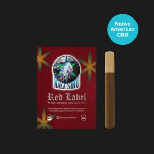 1200mg Maka Stogie Red Label (3CNT Wood Tip)