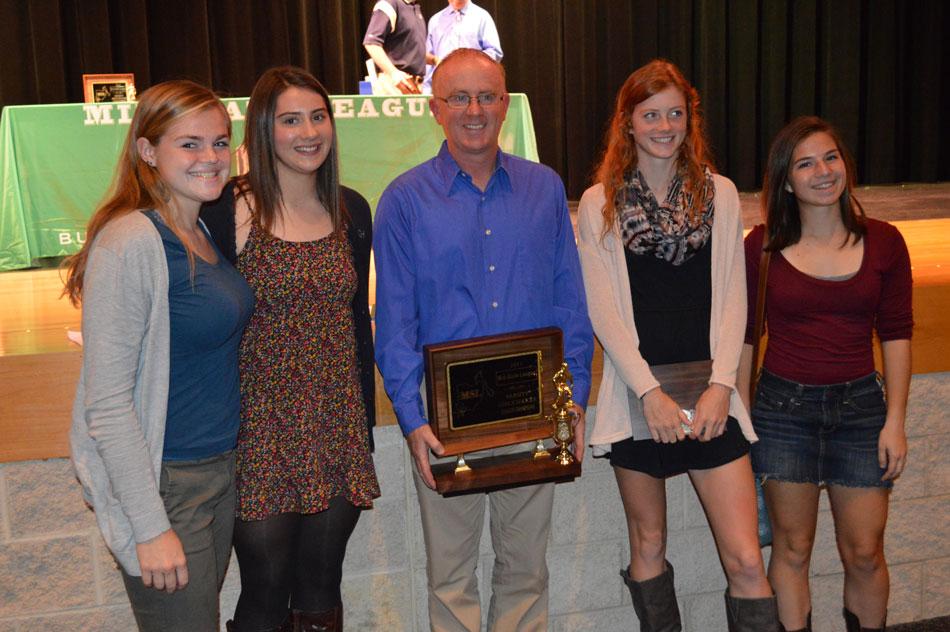 Mike Merna, GHHS Girls' Soccer Coach