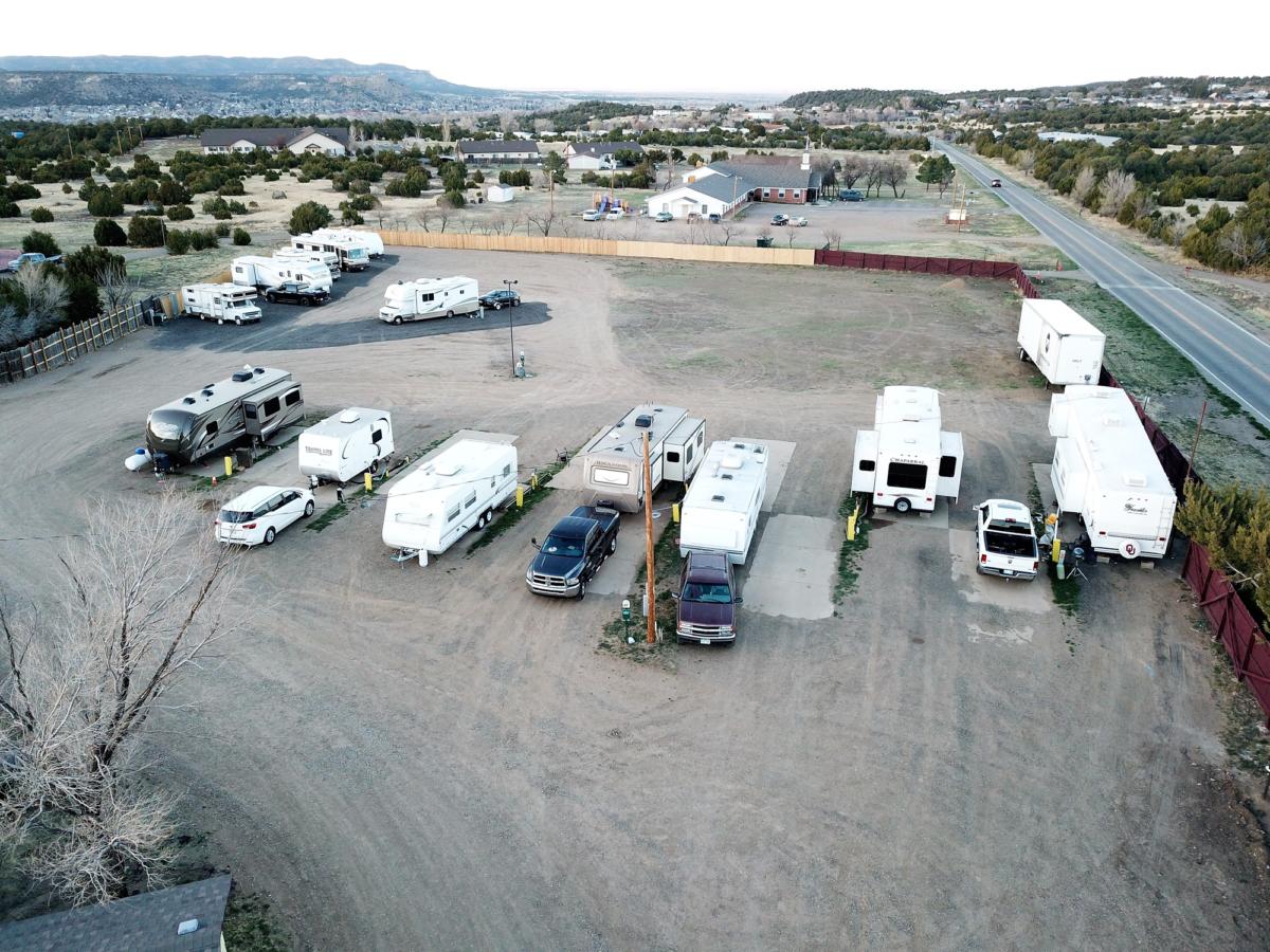 Camping in Trinidad Colorado