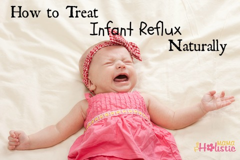 how to treat infant reflux naturally