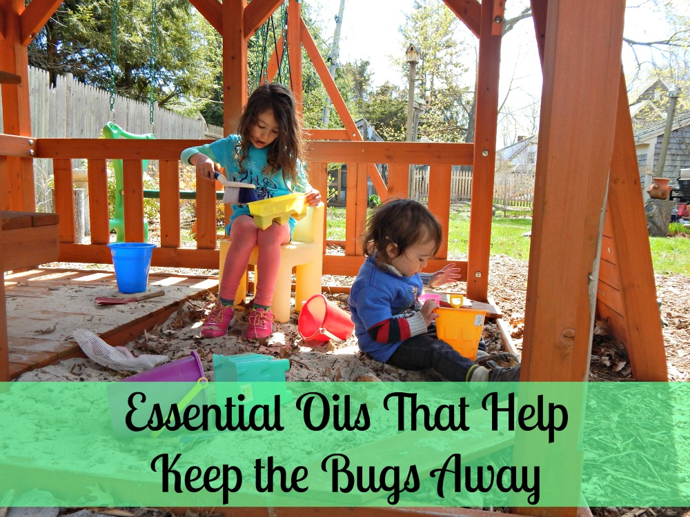 essential oils that keep the bugs away