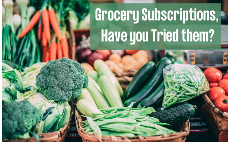 grocery subscriptions