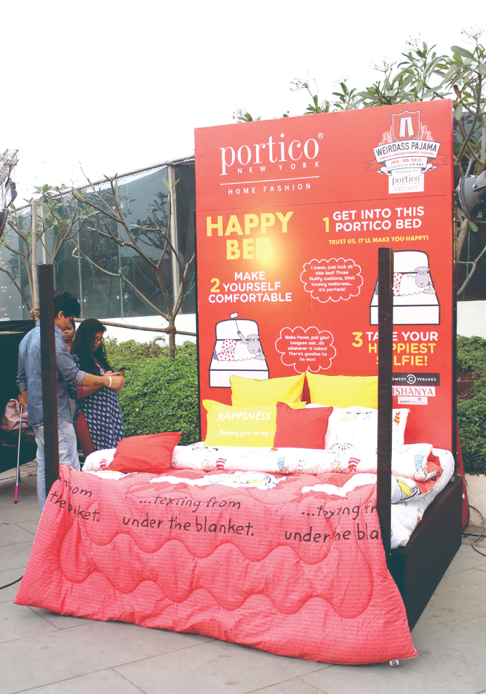 Portico-bed