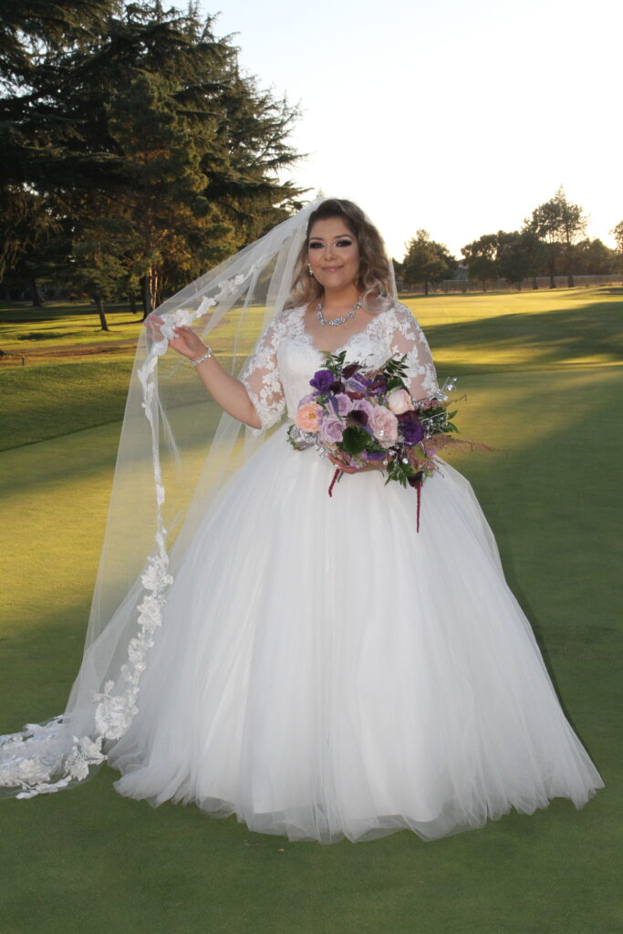 Bride Portrait Outdoors