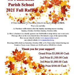 School Fall Raffle