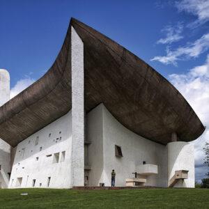 """Chapelle de Notre Dame du Haut"""" em Ronchamp."""