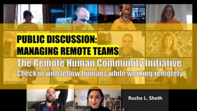 Discussion: Managing Remote Teams