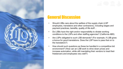 Corporate Social Responsibility Discussion