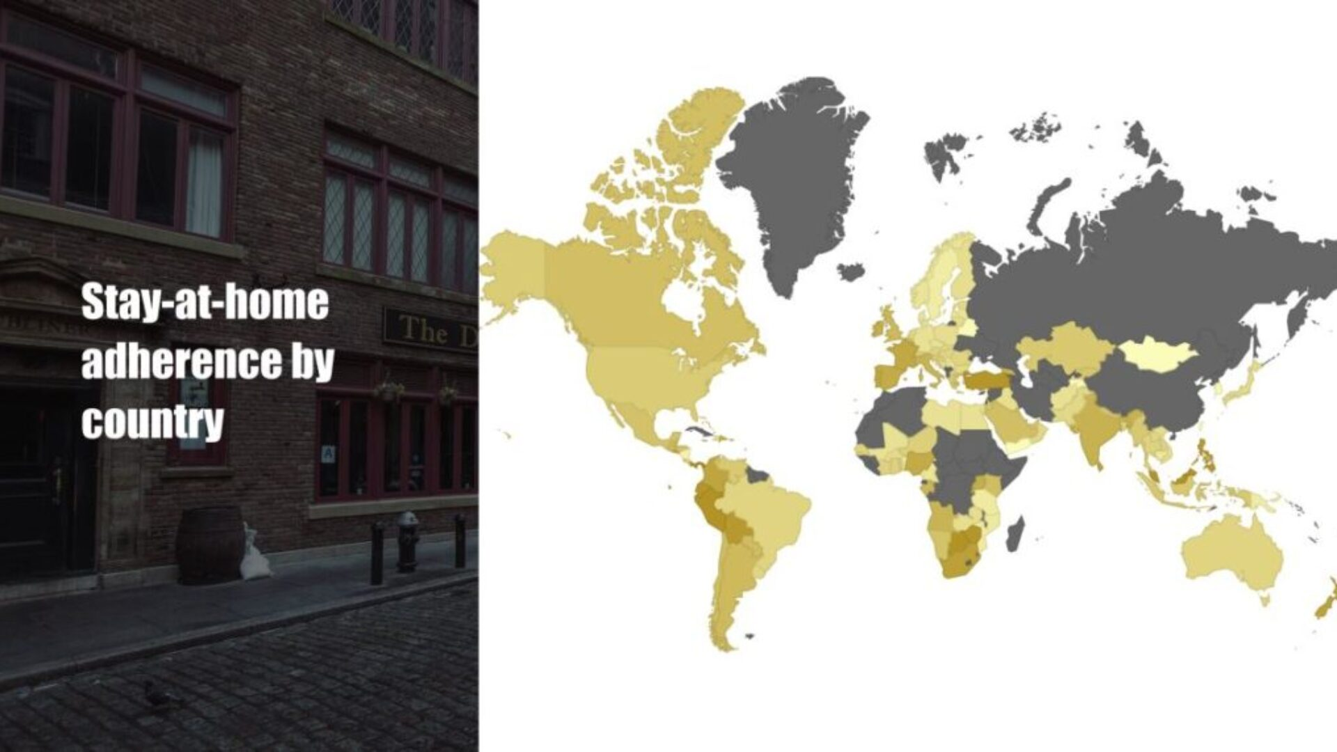 Stay At Home Adherence by Country