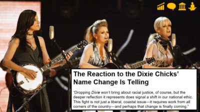 The Dixie Chicks changed their name