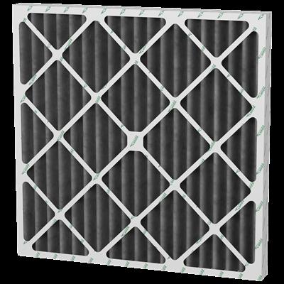 Filtro plisado con carbón activado