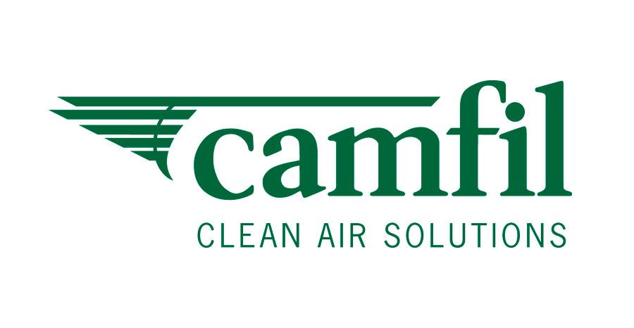 Logo de Camfil-Clean Air Solution