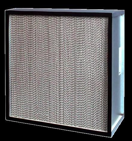 Filtro HEPA de separador de aluminio